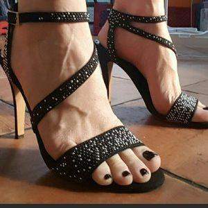 Also heel sandals